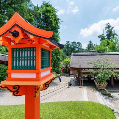 神社の境内2