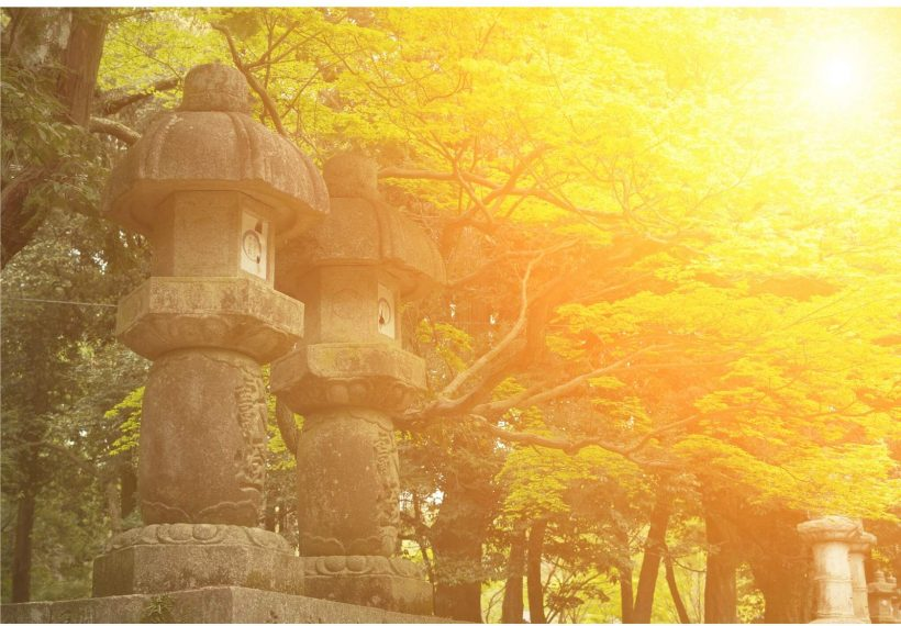 夕焼けの京都